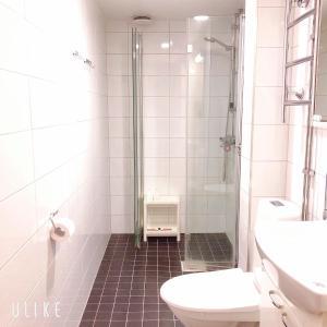 Ванная комната в Uman City Studio-Flemingsgatan