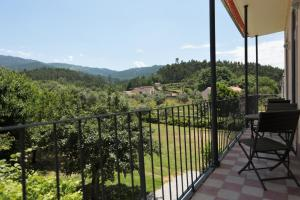 A balcony or terrace at Casa Amarela