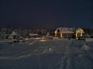Miekojärvi Resort talvella