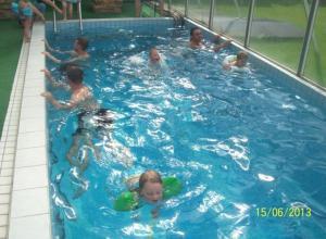 The swimming pool at or near Ubytování - wellnes -Netolice