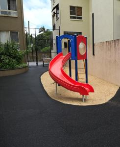 Children's play area at The Lakes Cairns