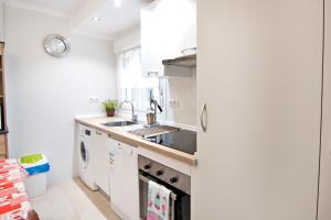 A kitchen or kitchenette at Barrón 21