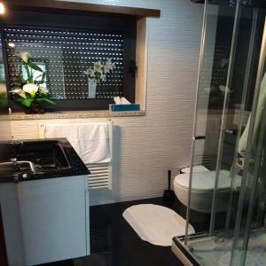 A bathroom at Casa da Mota