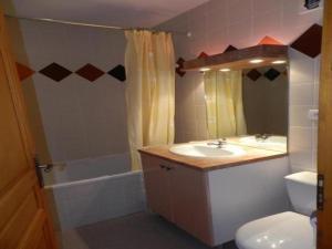 Salle de bains dans l'établissement Apartment Ax-les-thermes - 4 pers, 39 m2, 2/1