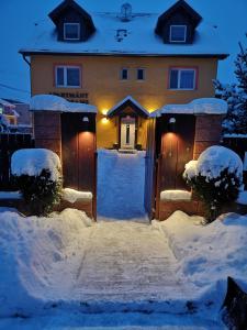 Apartmány Dreams om vinteren