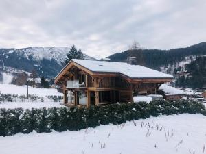 Chalet Alexandra during the winter