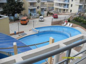 A view of the pool at Menada Sunset Kosharitsa Apartment or nearby