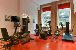 The fitness centre and/or fitness facilities at Fraser Suites Glasgow