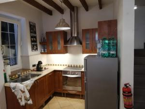 A kitchen or kitchenette at Casa Agnes