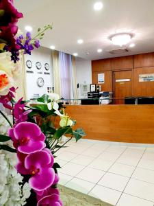 The lobby or reception area at Grand Plaza Serviced Apartments