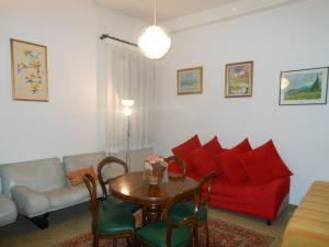 A seating area at Appartamenti del Dose