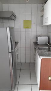Kuhinja ili čajna kuhinja u objektu Monjitas Apartments