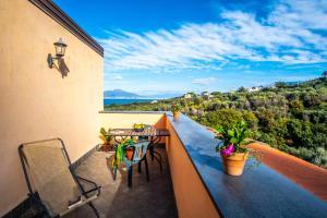 A balcony or terrace at Villa Rosmary
