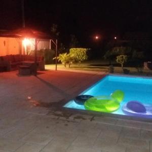 The swimming pool at or near Casa no Litoral Aveiro - Casa da Faia