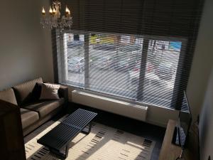 A seating area at Huis van Vletingen Apartment