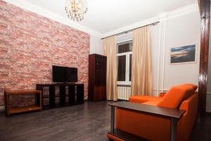 A seating area at Kvart-Hotel Promenade