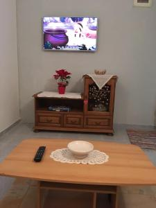 A television and/or entertainment center at Apartment Magnolija