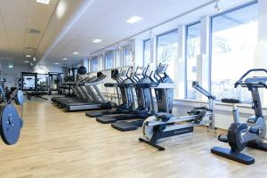 The fitness center and/or fitness facilities at Part-Time Home Rotebro