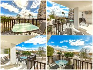 A balcony or terrace at Apartmento Parque Royale I