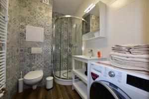 Kúpeľňa v ubytovaní Deniz Apartment