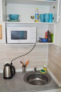 Кухня или мини-кухня в Апарт-отель Полёт 4