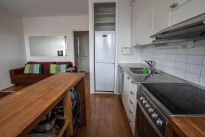Virtuve vai virtuves aprīkojums naktsmītnē Casa Bella