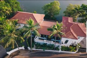 A bird's-eye view of Villa Riviera