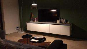 A television and/or entertainment center at Private room in a shared apartment
