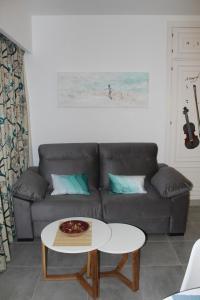 A seating area at Studio banus