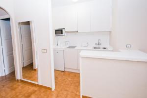 Una cocina o zona de cocina en Siesta Mar Apartamentos