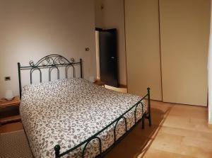 Een bed of bedden in een kamer bij 63 Via San Felice