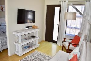 A television and/or entertainment center at 10 On Ou Kraal
