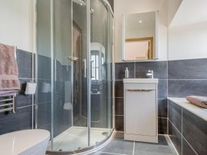 A bathroom at Lower Carhullan