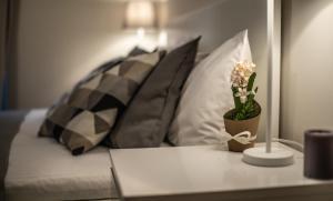 Zona de estar de Deluxe Apartment in Central London Camden