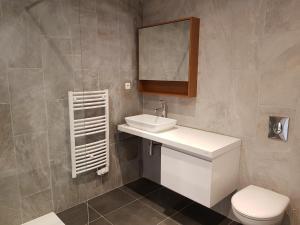 A bathroom at GALLO-ROMAINS