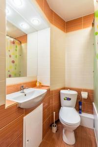 Ванная комната в Апартаменты на Революционной 13 А