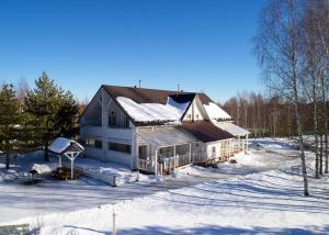 Эко Отель Новый Ковчег зимой