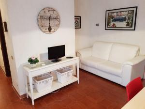 A seating area at Appartamento a pochi passi dal mare