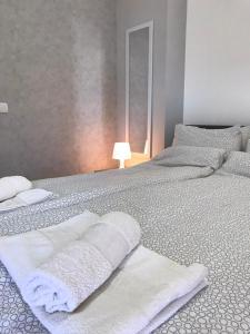 Krevet ili kreveti u jedinici u okviru objekta Apartments IVI Gevgelija