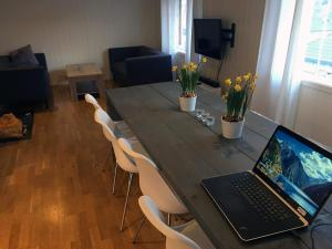 The business area and/or conference room at Holiday house in Flekkefjord