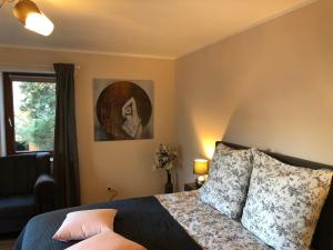 Posteľ alebo postele v izbe v ubytovaní Appartement Deutz/Messe 81