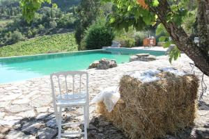 The swimming pool at or near Quinta da Murta Owner House
