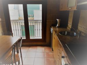 Una cocina o zona de cocina en Cangas-Rías Baixas-Cies
