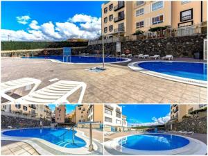 The swimming pool at or near Two bedroom duplex with spectacular ocean view