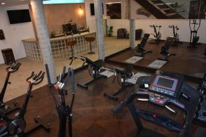 The fitness center and/or fitness facilities at Villa Rainbow Home Mallorca