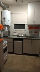 A kitchen or kitchenette at Casa Magnolias
