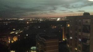 A bird's-eye view of apartamento moguer con vistas