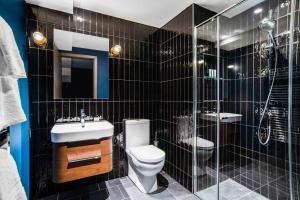 A bathroom at Native Manchester