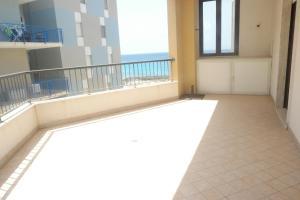 A balcony or terrace at Appartamento Rosa Virginia
