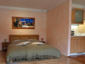 Postelja oz. postelje v sobi nastanitve APARTMA PREZLC
